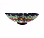 Mexican Juanetta Round Vessel Basin Hand-painted Bathroom Sink - Unique Sinks