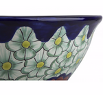 Mexican Juanetta Tall Vessel Hand-painted Bathroom Basin - Unique Sinks