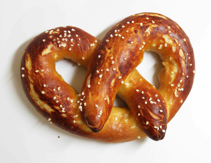 Soft Pretzels (Sweet or Savoury versions)