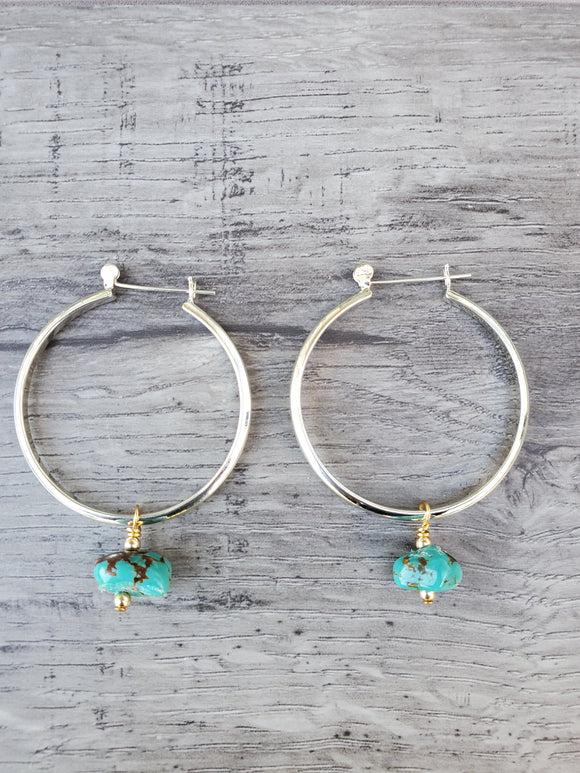 Foxy Hoop Earrings