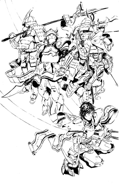 Ronin Warriors Inks
