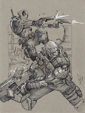 Deadpool X Cable