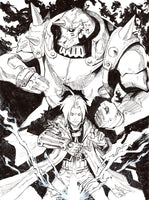 Full Metal Alchemist Inks