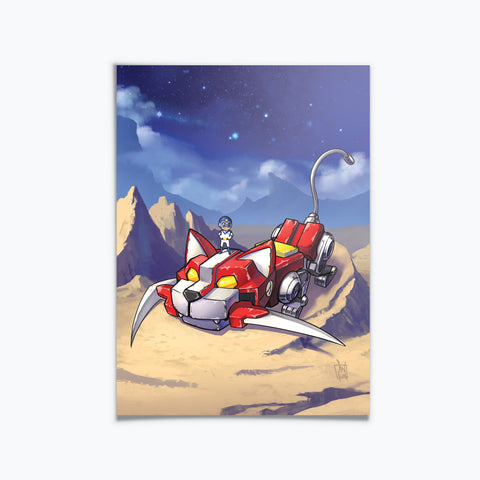 SuperMini Voltron Red Lion