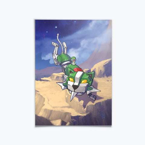 SuperMini Voltron Green Lion