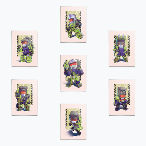 SuperMini Cards Wave 04 - Constructobots