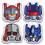 Robo Head Sticker Pack