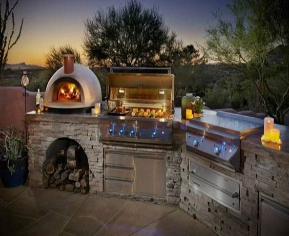 Luxury Barbecue Station
