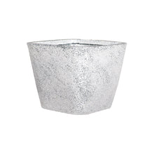 Load image into Gallery viewer, Square Tapered Eco Planter- White