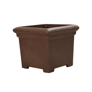 Square Eco Planter-Brown