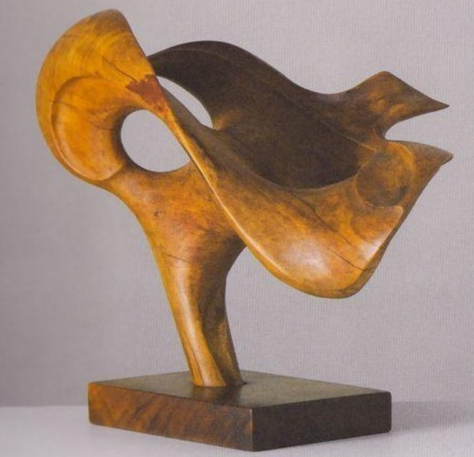 Traditional Look Abstract Sculpture