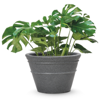 Load image into Gallery viewer, Round Eco Planter- Grey