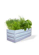 Load image into Gallery viewer, Rectangular Eco Planter-White