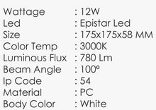 Load image into Gallery viewer, TEMPLAR-A Wall Light (12W)