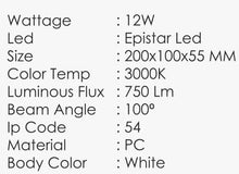 Load image into Gallery viewer, TEMPLAR-B Wall Light (12W)
