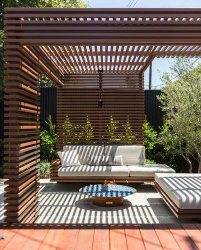 Contemporary Design Pergola