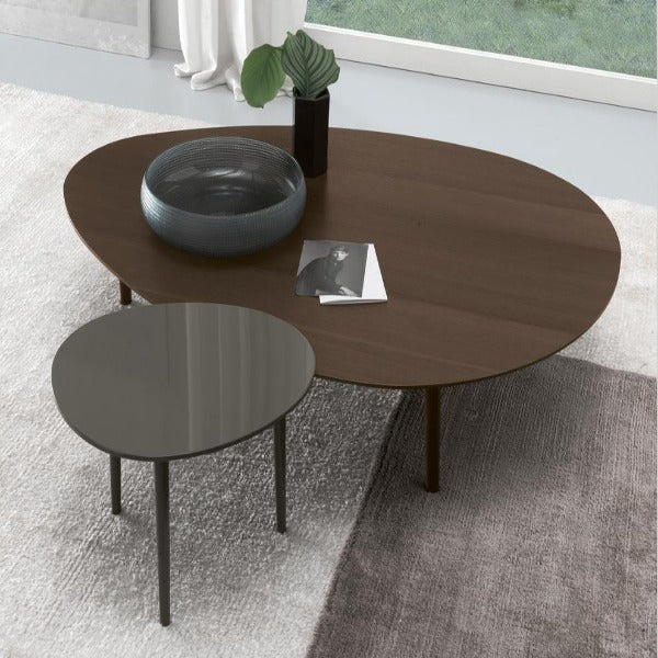 Modern Veneered Look Set of Table for Porta Cabin/Shaded Areas in Outdoor