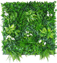 Load image into Gallery viewer, Artificial Plant Wall Cover With Small Leaves & Bushes (In Sqft)