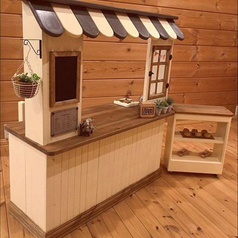 DIY Customized Booth Counter for Beverages