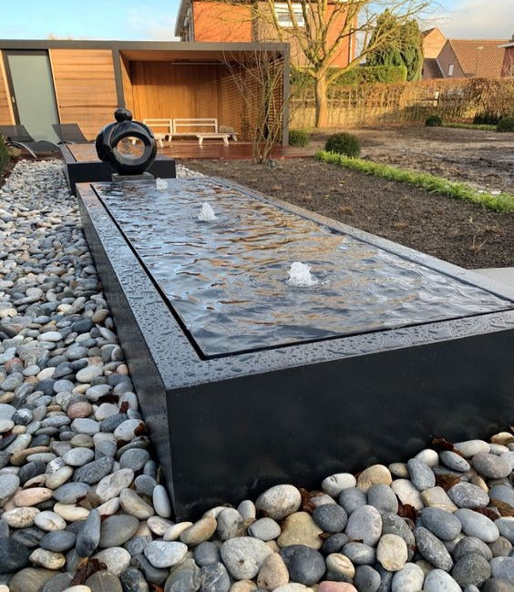 Slate Stone Solid  Pop-up Fountain