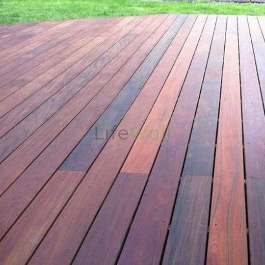 Ipe Brazilian Wooden Decking - 100% Water & Termite Proof (In Sqft)