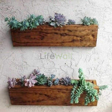 Load image into Gallery viewer, Pinewood Natural Vertical Garden System (In Sqft)