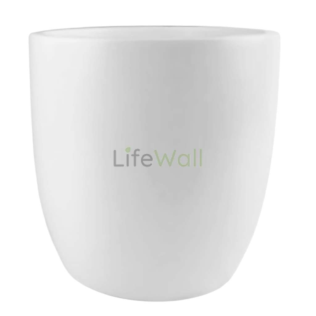 Round Bottom Frp Planter White (In Pc)