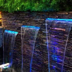 Wall Cascade Fountain Stone (In Sqft)
