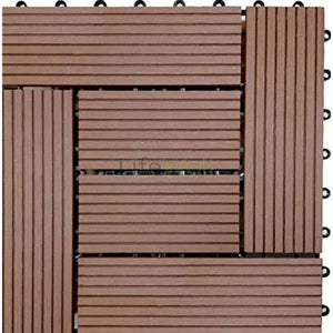 Wpc Wooden Decking - 100% Water And Termite Proof (In Sqft)