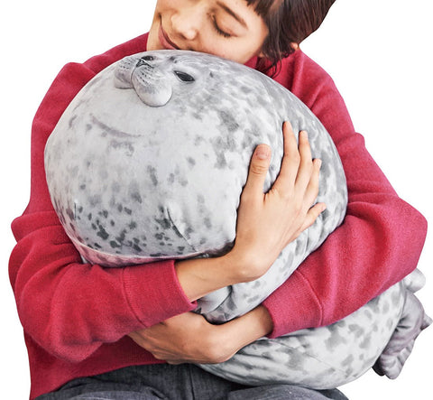 Angry Seal Pillow - PlushVille