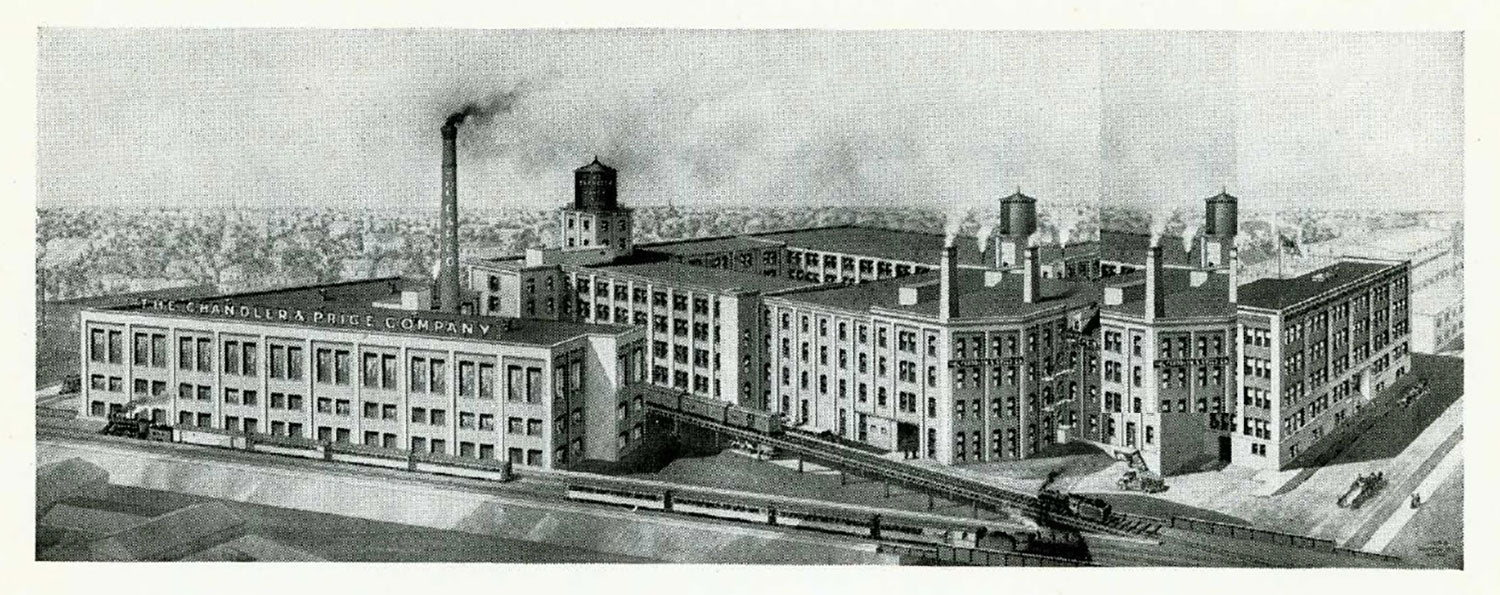 Illustration of Chandler & Price Factory