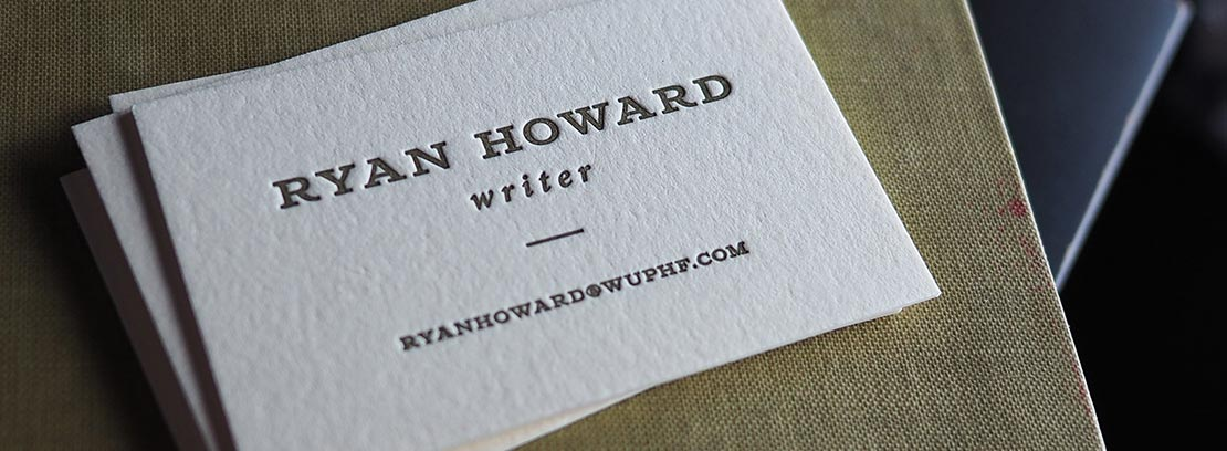 Premium Business Cards and Calling Cards