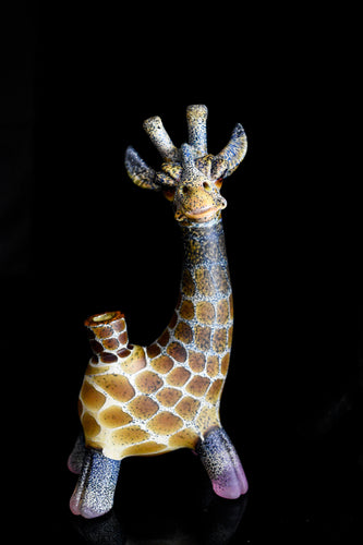Giraffe with Freckle Tech and Serum CFL Feet by Mathew Robertson - Marys Heady Smoke Shop