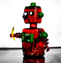 Load image into Gallery viewer, Strawberry Bot Collaboration with @glassbyboots - Marys Heady Smoke Shop