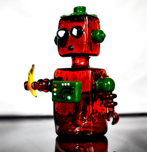 Strawberry Bot Collaboration with @glassbyboots - Marys Heady Smoke Shop