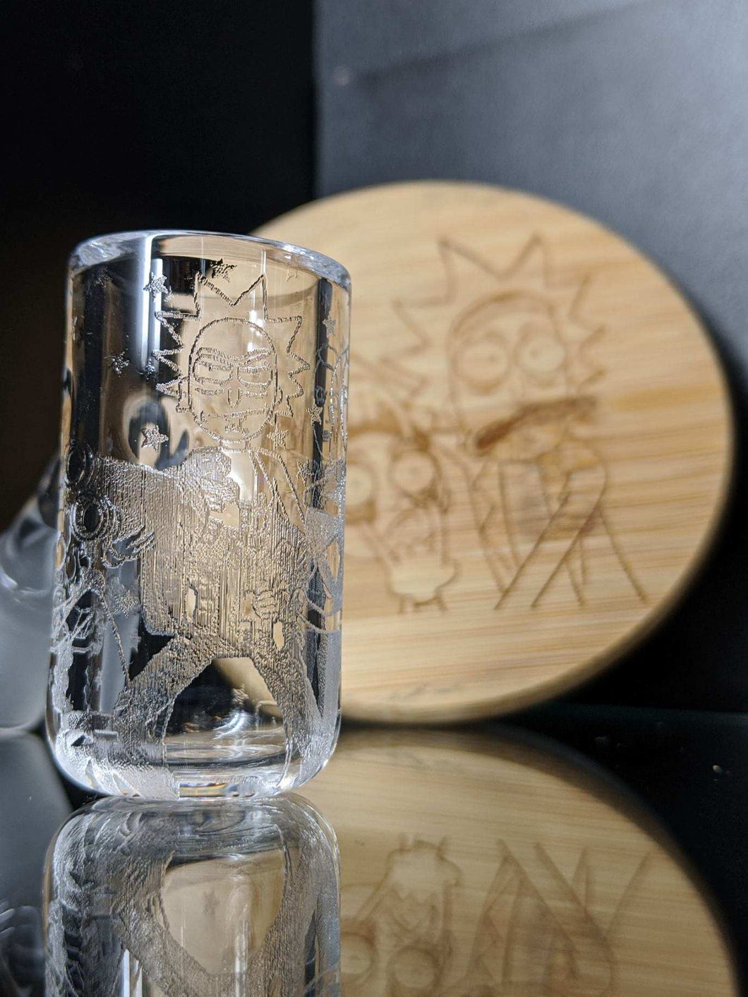 Rick & Morty Long Island Quartz banger - Marys Heady Smoke Shop