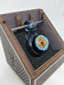 Dragon eye pendant w/display - Marys Heady Smoke Shop