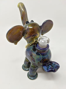Mystery Elephant rig w/chain pendant - Marys Heady Smoke Shop