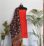 Load image into Gallery viewer, Ruhi rush red kalamakari salwar set - STUDIO PEHEL