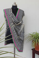 Load image into Gallery viewer, Raw silk Handpainted dupatta - STUDIO PEHEL