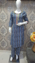 Load image into Gallery viewer, Gota work kurti