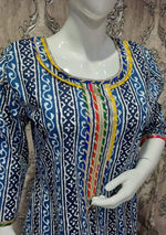 Load image into Gallery viewer, Gota work kurti - STUDIO PEHEL