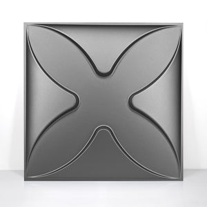 "12""x12"" 3D PVC Wall Tiles Modern Butterfly Style - Profinishes"