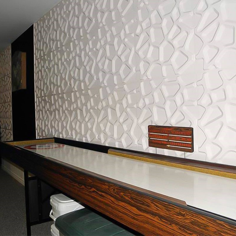"12""x12"" 3D Wallpaper Panels Modern Abstract Style, Self Adhesive - Profinishes"