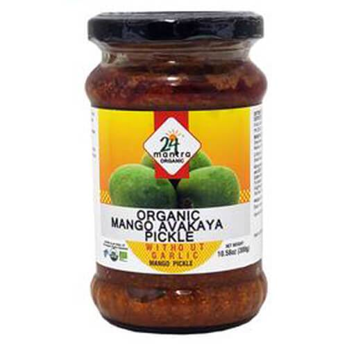 24 Mantra Organic Mango Avakaya WithOut Garlic
