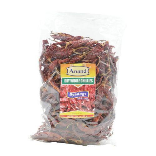 Anand Dry Whole Chillies (Byad