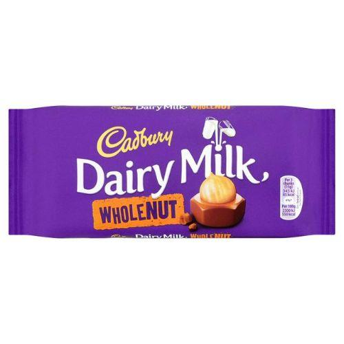 Cadbury Dairy Milk Whole Nut -