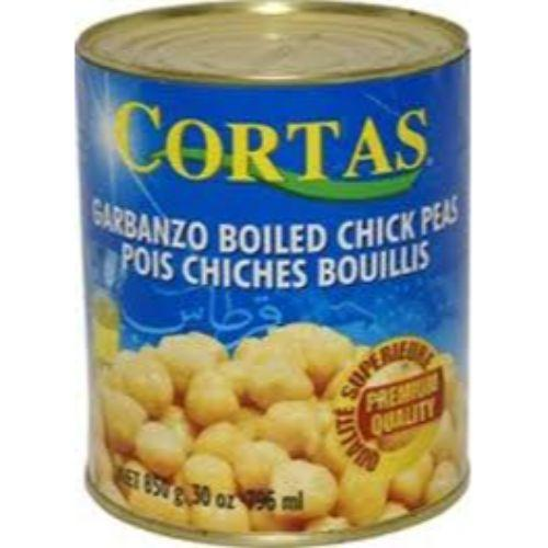 Cortas Garbanzo Bolied - 30 oz