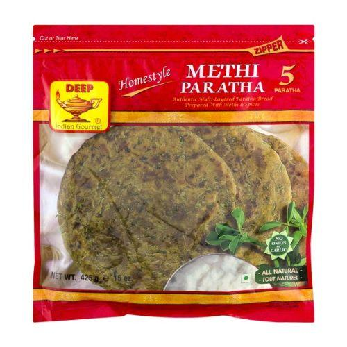 Deep Methi Paratha