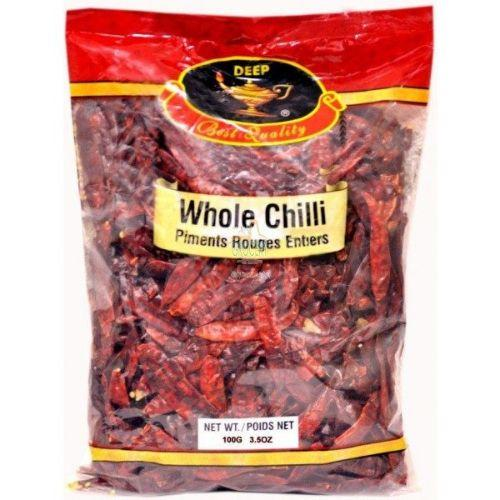 Deep Whole Chilli Long - 3.5 O
